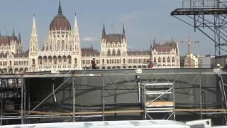 Spektakulärer Sprungturm in der Donau für Schwimm-WM in Budapest / #fina2017
