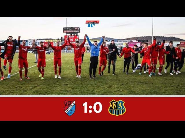 TSV Steinbach Haiger - 1.FC Saarbrücken 1:0 (Regionalliga Südwest 2019/20 I #TSVFCS )