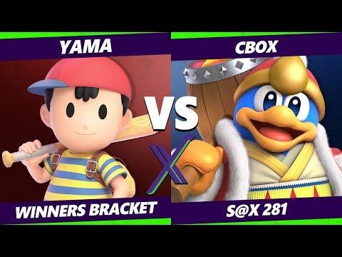 Smash Ultimate Tournament -  Yama (Ness) Vs.  CboX (King Dedede) - S@X 281 SSBU Winners Bracket