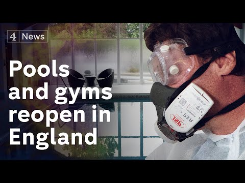 Coronavirus: Indoor swimming pools and gyms reopen in England today