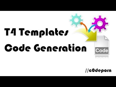 code generation with t4 templates youtube. Black Bedroom Furniture Sets. Home Design Ideas