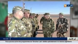 الفريق قايد صالح في زيارة تفتيش و عمل إلى للناحية العسكرية الرابعة - ورقلة