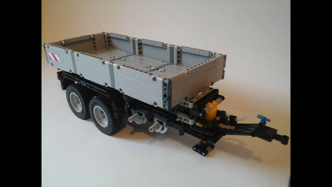 lego technic moc unimog u400 kippanh nger youtube. Black Bedroom Furniture Sets. Home Design Ideas