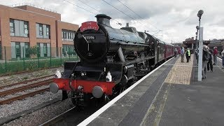 LMS Jubilee No  45596 'Bahamas' - 'The Waverley' (1Z44) - York - 18th Aug 2019