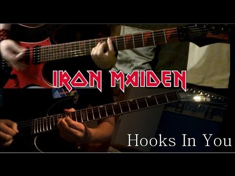 Iron Maiden - Hooks In You (Dual Guitar Cover by Matty & JJ)