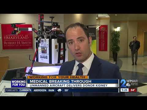Scott Sloan - VIDEO: Drones May Be Used To Deliver Organs For Transplant