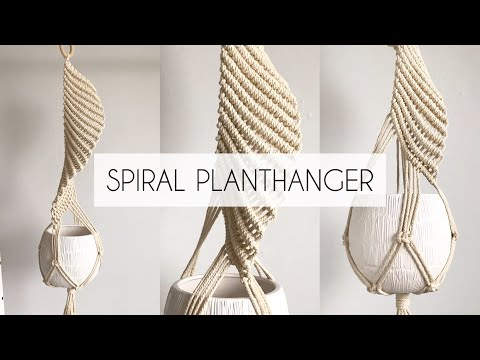 how-to-make-a-spiral-planthanger- -diy-macrame-plant-hanger- -(step-by--step)