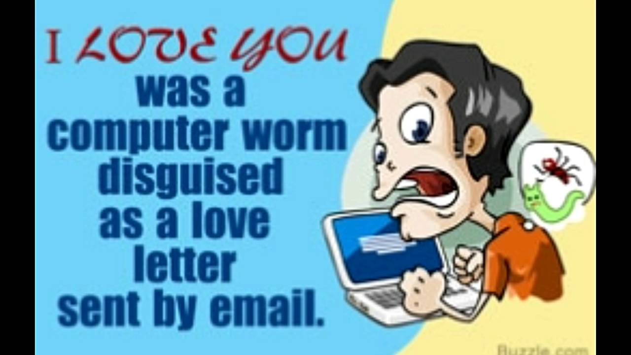 it255 iloveyou virus Virus definitions dated may 31, 2001, or later detect and remove all of these known variants occasionally new variants of this worm are discovered  iloveyou body.