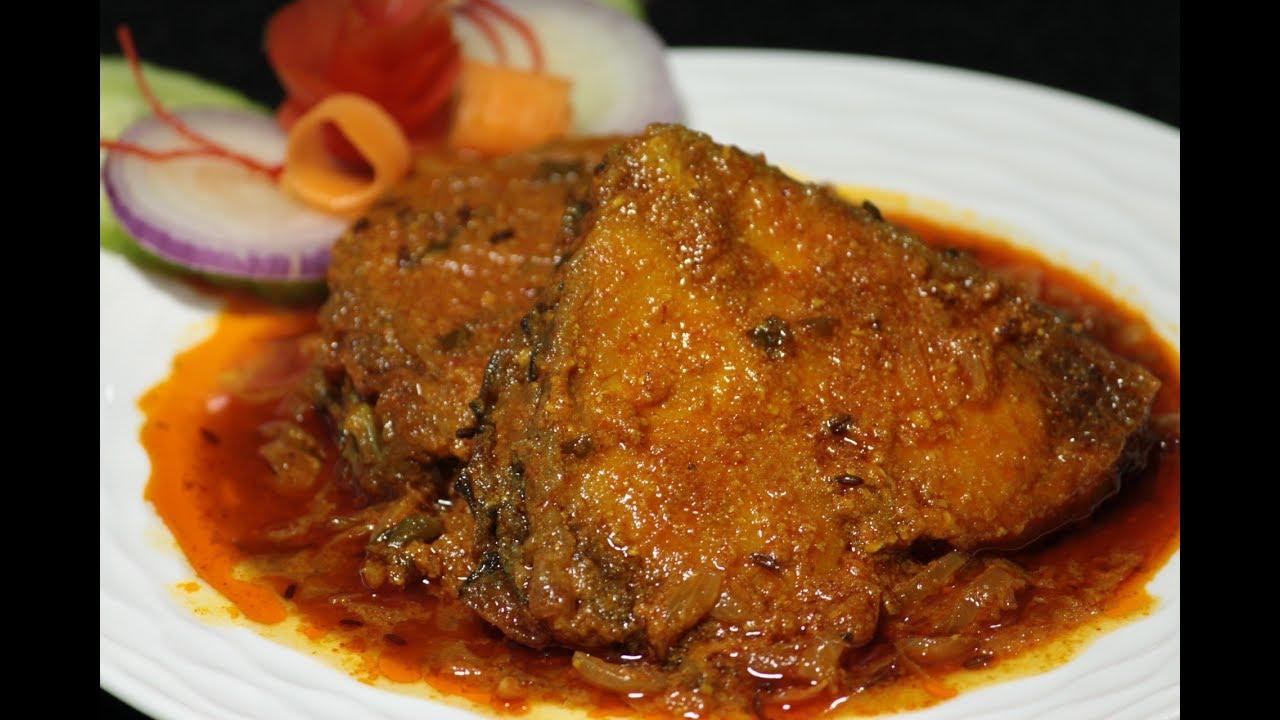 Image result for katla macher curry images