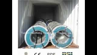 видео Гладкие стальные листы в строительстве