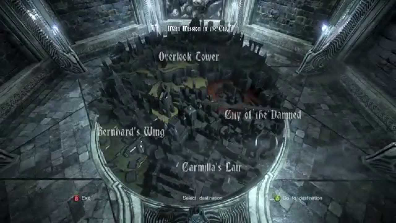 Castlevania World Map.Castlevania Lords Of Shadow 2 Map Room