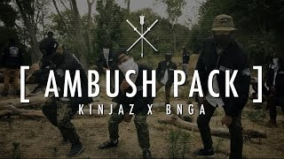 KINJAZ X BNGA | #AMBUSHPACK @machingunkelly @troyboimusic