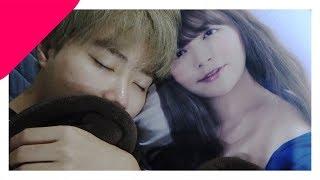 YouTube動画:てんちむとツリメが同じベットで添い寝?!