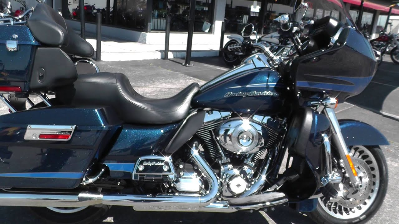 Motorcycles For Sale In Texas ... Davidson Road Glide Ultra FLTRU - Used Motorcycle For Sale - YouTube