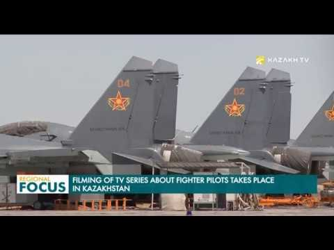 Filming of TV Series about Fighter Pilots Takes Place in Kazakhstan