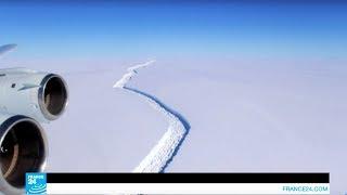 جبل جليدي بحجم دولة اللوكسمبورج ينفصل عن أنتركتيكا