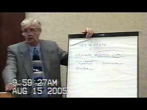 Charles Conces Lawman 5 Day Pro Se Law Class Day 1, Pt 1 of 4