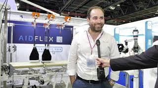 AIDFLEX talks to Arab Health TV