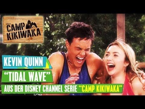 CAMP KIKIWAKA - Kevin Quinn: Tidal Wave 🌊🎵 | Disney Channel Songs