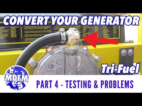 Tri-Fuel Generator Conversion - TESTING PHASE (PROBLEMS ARISE) - (Part 4) - FULL LENGTH VERSION