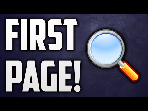 How To Get On The First Page Of YouTube And Get More Views!
