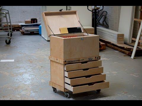 Making a 4 drawer tool box