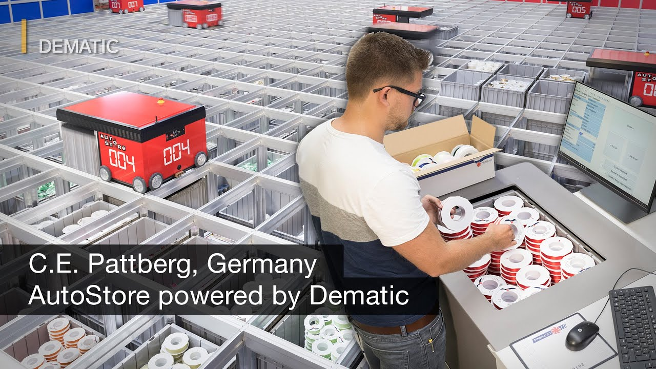 Optimised Storage And Seasonal Order Picking With An Autostore Solution Powered By Dematic Youtube