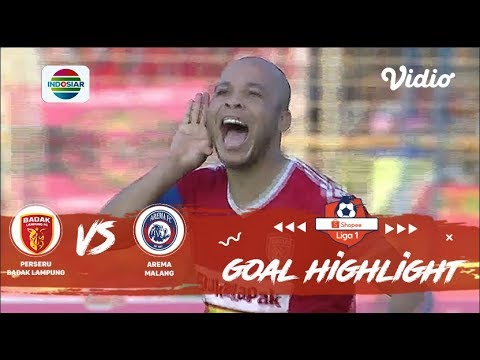 Highlight Badak Lampung FC vs Arema | Drama Pesta Gol