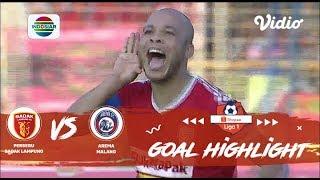 Badak Lampung FC (4) vs (3) Arema Malang - Goal Highlights | Shopee Liga 1