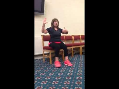 Chair Exercise Justin Timberlake Comfy And Ottoman Seated Tango Youtube