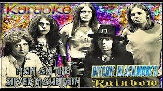 Ritchie Blackmore's Rainbow * Karaoke Of Man on the silver mountain