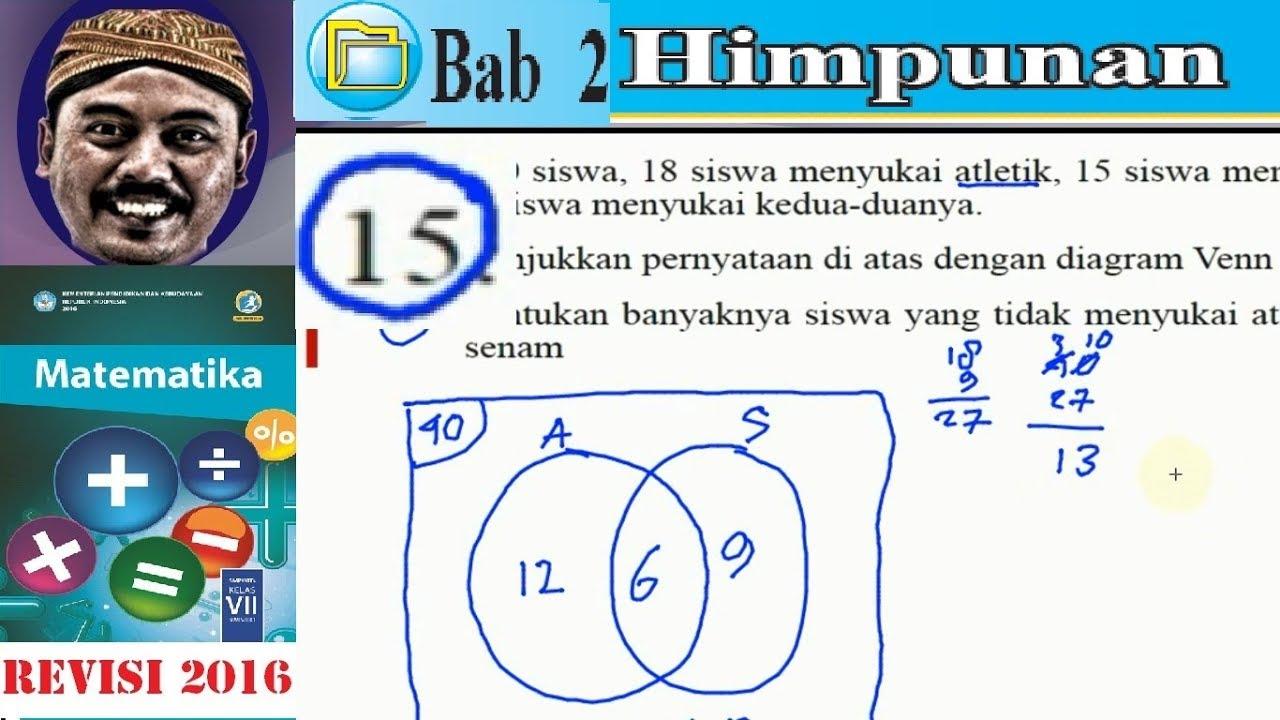 Himpunan matematika kelas 7 bse kurikulum 2013 revisi 2016 uk 2 himpunan matematika kelas 7 bse kurikulum 2013 revisi 2016 uk 2 esai no15 diagram venn ccuart Gallery