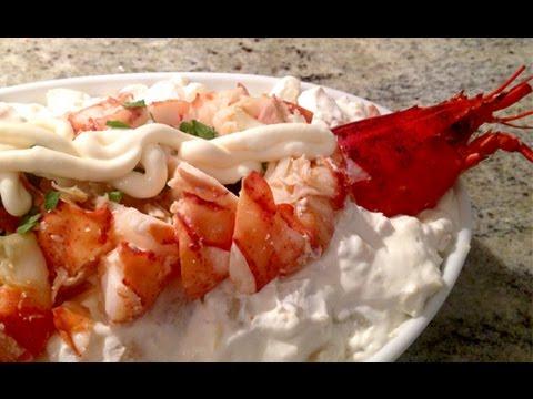 Lobster Salad Hong Kong Style 香港式龍蝦沙律