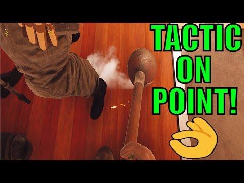 TACTIC ON POINT! - Rainbow Six Siege Gameplay w/ TheGodlyNoob