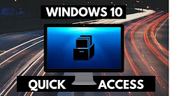 How to change Quick Access, Recently Used Files & Folders - Windows 10 Tutorial