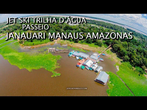 SEA DOO JET SKI -  PASSEIO JANAUARI MANAUS AMAZONAS
