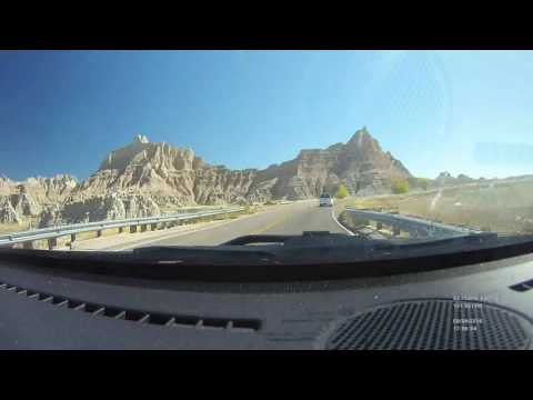 Time lapse drive Rapid City, SD to Sioux Falls, SD