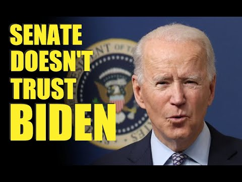 Senate Doesn't TRUST Biden With War Power