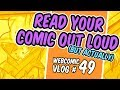 Do A Dramatic Reading of Your Comic!!! - Webcomic Vlog #49
