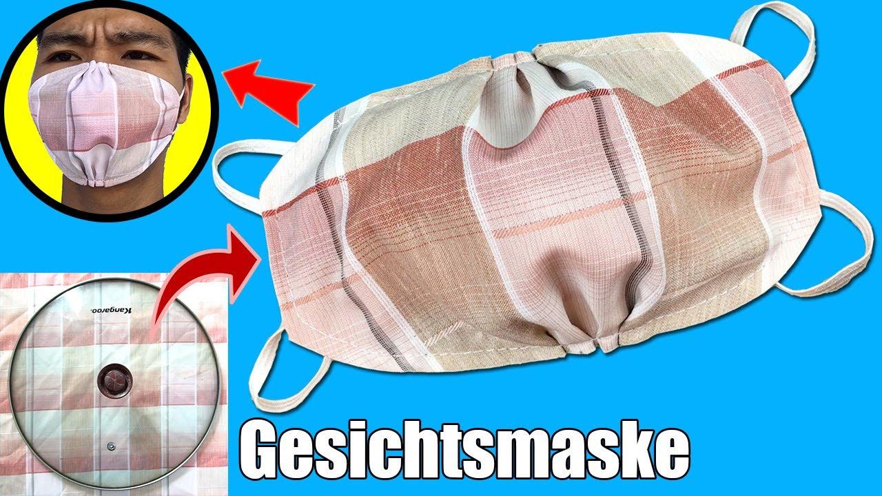 Mundschutz selber nähen deutsch | Gesichtsmaske selber nähen für anfänger| Behelfsmaske selber nähen