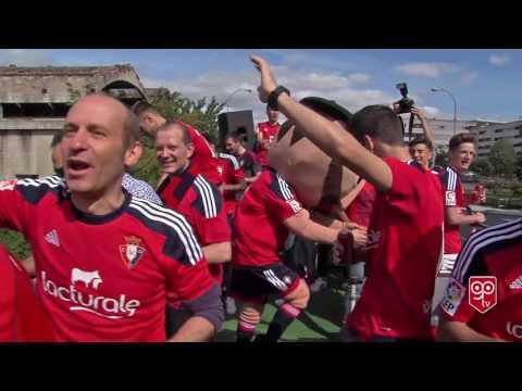 OSASUNA Celebración del ascenso a primera división 2016