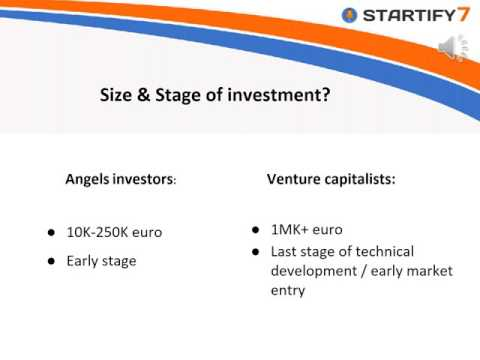 Angel investors  vs  Venture capitalists