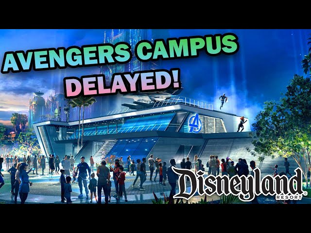 Disneyland Avengers Campus Delayed! - Everything We Know About Disney's Marvel Themed Land