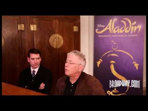 """Behind the Music: Alan Menken & Chad Beguelin on Turning """"Aladdin"""" Into a Broadway Smash"""