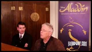 "Behind the Music: Alan Menken & Chad Beguelin on Turning ""Aladdin"" Into a Broadway Smash"