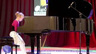 IV міжнародний конкурс юних піаністів ім. В. Барвінського молодша вікова група I тур