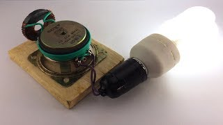 New Electric Free Energy Device Running Using Speaker Magnet Experiment At Home