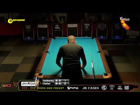 #6 Shane VanBOENING vs Tony CHOHAN / 2017 WCC One Pocket