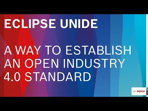 Eclipse Unide – A way to establish an open Industry 4.0 standard