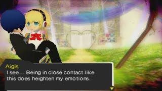 Persona Q: Shadow of the Labyrinth- Aigis' Big Day Scene (P3 & P4 Side)